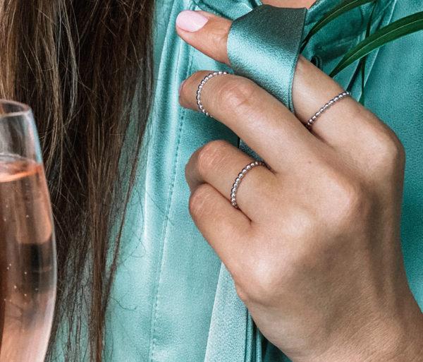 Кольцо изготовлено из серебра 925 пробы. Защищено родиевым покрытием. Возможные размеры: 15, 16, 17 При заказе уточняйте свой размер! Гипоаллергенно!
